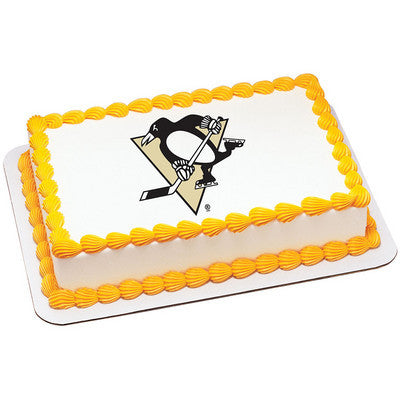 NHL Pittsburgh Penguins Photo Cake
