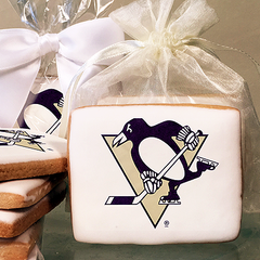 NHL Pittsburgh Penguins Photo Cookies