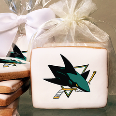 NHL San Jose Sharks Photo Cookies