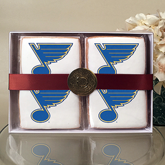 NHL St. Louis Blues Cookie Gift Box