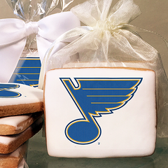 NHL St. Louis Blues Photo Cookies