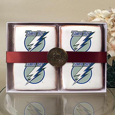 NHL Tampa Bay Lightning Cookie Gift Box