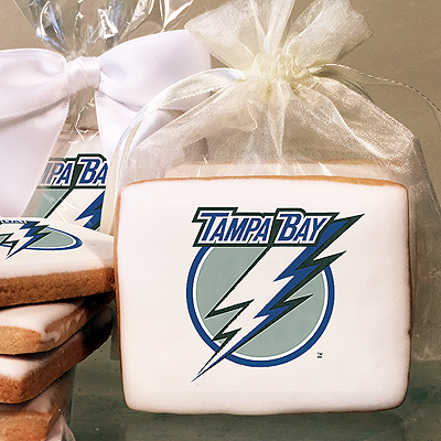 NHL Tampa Bay Lightning Photo Cookies