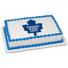 NHL Toronto Maple Leafs Photo Cake