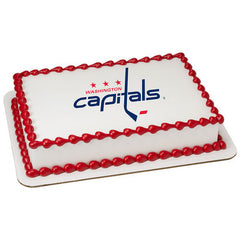 NHL Washington Capitals Photo Cake