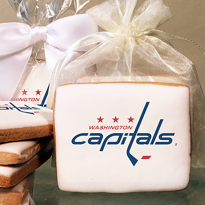 NHL Washington Capitals Photo Cookies