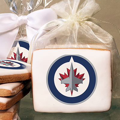 NHL Winnipeg Jets Photo Cookies