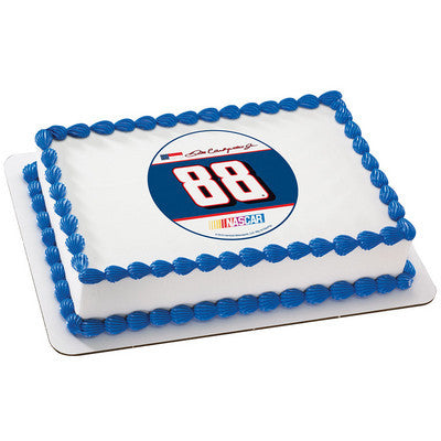 NASCAR Dale Earnhardt Jr. #88 Photo Cake