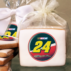 NASCAR Jeff Gordon #24 Logo Photo Cookies