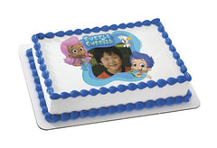 BUBBLE GUPPIES GIL, MOLLY & BUBBLE PUP Photo Cake