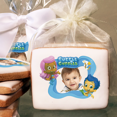 BUBBLE GUPPIES GIL, MOLLY & BUBBLE PUP Photo Cookies