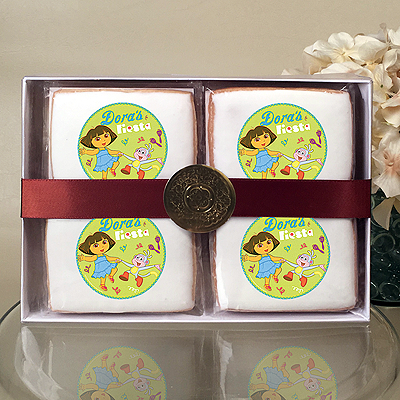 DORA EXPLORER FIESTA Cookie Gift Box