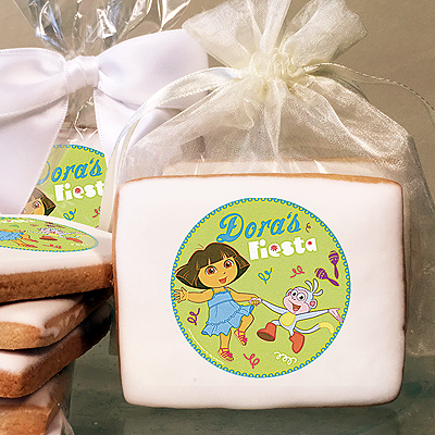 DORA EXPLORER FIESTA Photo Cookies