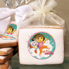 Dora the Explorer Adventure Awaits  Photo Cookies