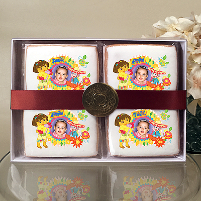 Dora the Explorer & Boots Fiesta Cookie Gift Box