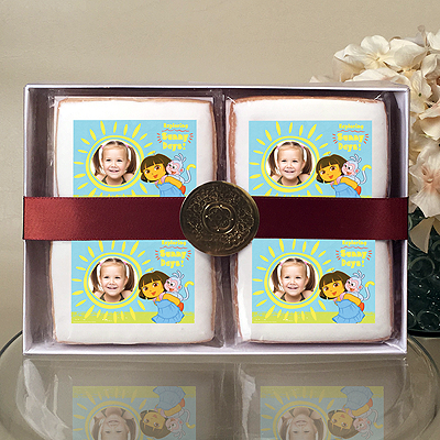 DORA EXPLORER SUNNY DAYS Cookie Gift Box