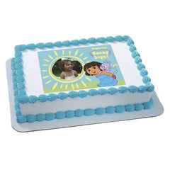 DORA EXPLORER SUNNY DAYS Photo Cake