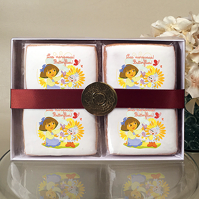 Dora the Explorer Butterflies Cookie Gift Box