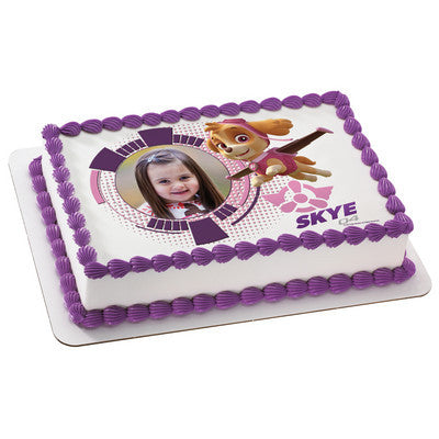 PAW Patrol Sky Photo Cake