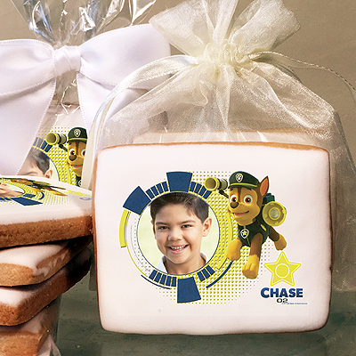 PAW Patrol Chase Photo Cookies
