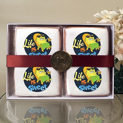 SpongeBob SquarePants Life is Sweet  Cookie Gift Box