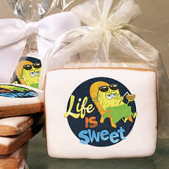 SpongeBob SquarePants Life is Sweet  Photo Cookies
