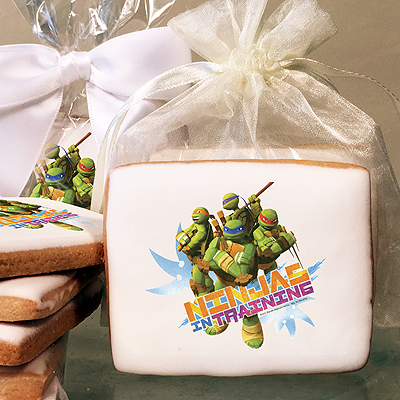 Teenage Mutant Ninja Turtles, Ninjas in Training Photo Cookies