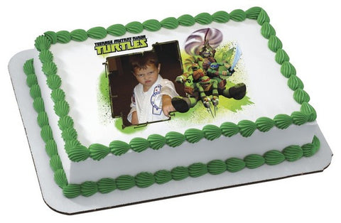 Teenage Mutant Ninja Turtles, Ninja Turtles Photo Cake
