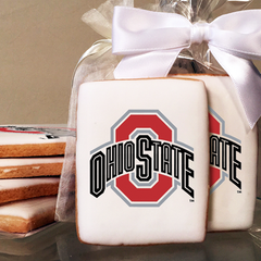 Ohio State University Collegiate Photo Cookies