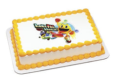 Pac-Man, Pac Them Up Photo Cake