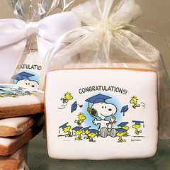 Peanuts Congratulations! Photo Cookies