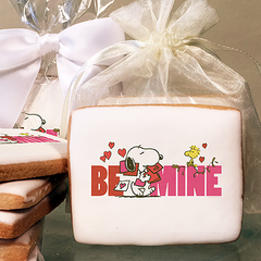 Peanuts Be Mine Photo Cookies