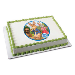 Peter Rabbit Peter & Cottontail Photo Cake