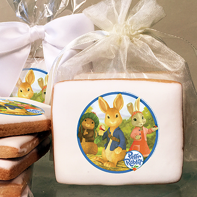 Peter Rabbit Peter & Cottontail Photo Cookies