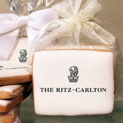 Ritz Carlton Logo Cookies