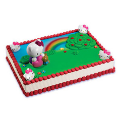 Hello Kitty Bubble Blower Cake Licensed Toy Cake