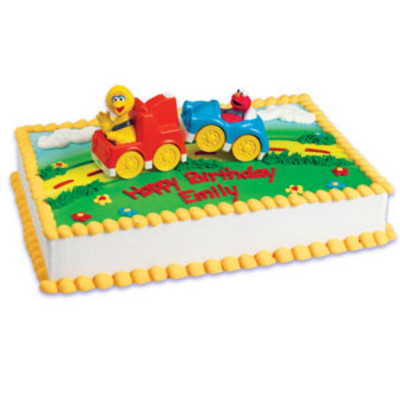 Sesame Street to Truck Licensed Toy Cake