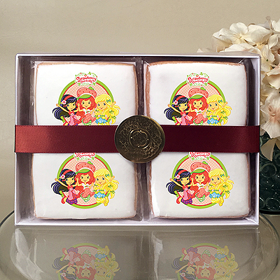 Strawberry Shortcake Jump for Joy!  Cookie Gift Box