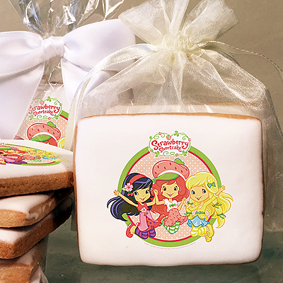 Strawberry Shortcake Jump for Joy!  Photo Cookies