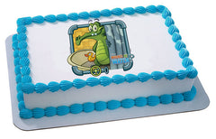 Where's My Water Swampy & Ducky Photo Cake