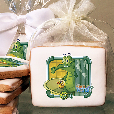 Where's My Water Swampy & Ducky Photo Cookies