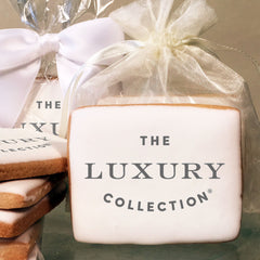 The Luxury Collection Logo Cookies