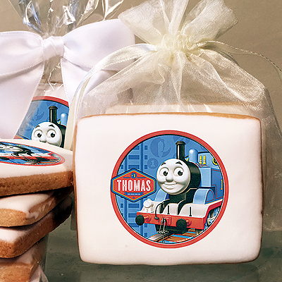 Thomas the Tank Engine Photo Cookies
