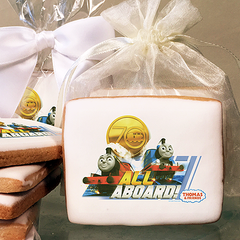 Thomas & Friends 70th Anniversary All Aboard! Photo Cookies