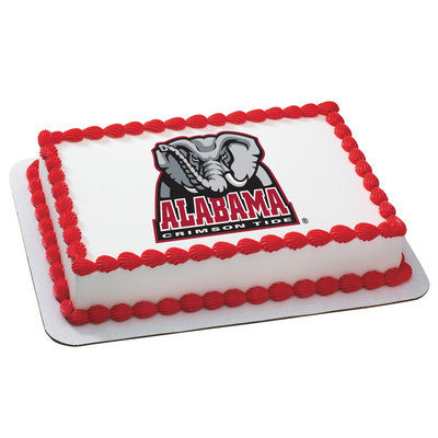 University of Alabama Collegiate Photo Cake