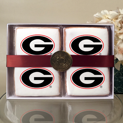 University of Georgia Cookie Gift Box