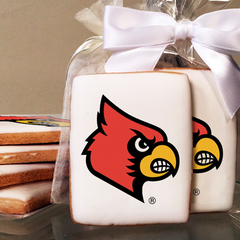 University of Louisville Collegiate  Photo Cookies