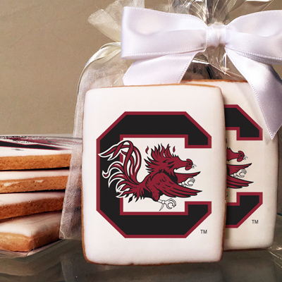 University of South Carolina Collegiate  Photo Cookies