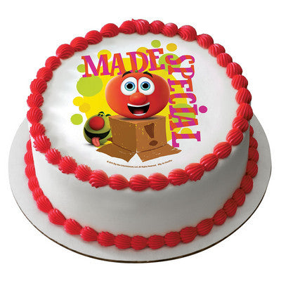 Veggie Tales™ Made Special Photo Cake