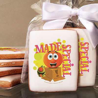 Veggie Tales™ Made Special Photo Cookies